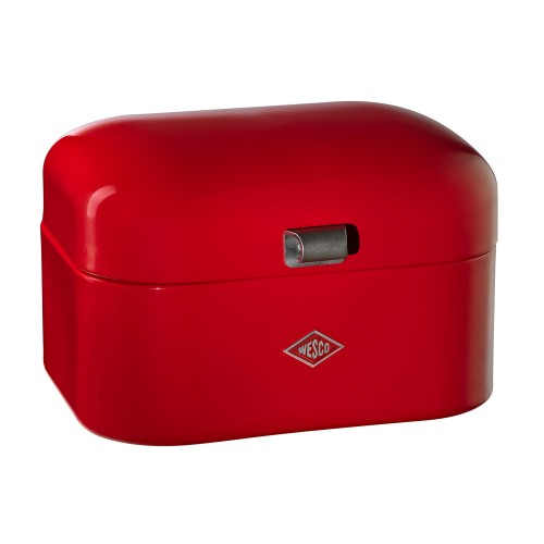 Wesco Single Grandy Bread Bin, Red