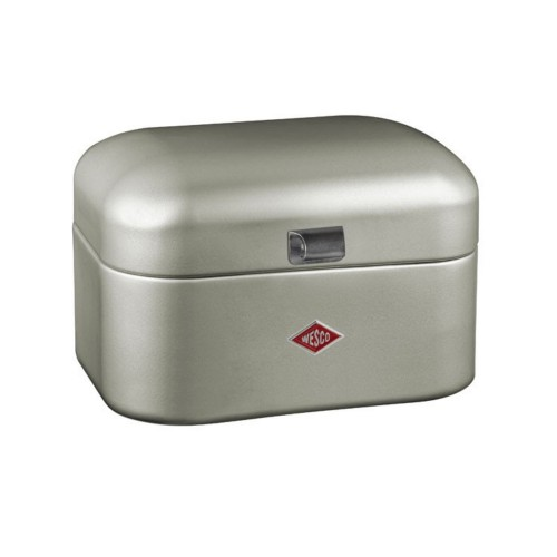 Wesco Single Grandy Bread Bin, New Silver