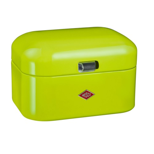 Wesco Single Grandy Bread Bin, Lime Green