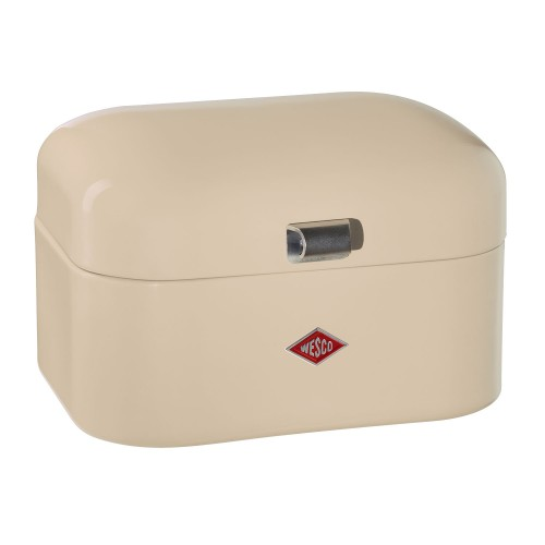 Wesco Single Grandy Bread Bin, Almond