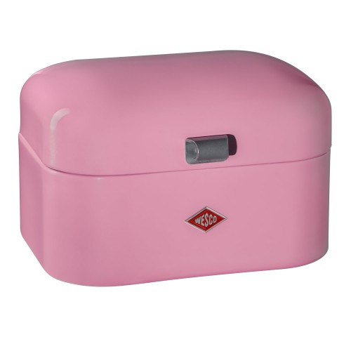 Wesco Single Grandy Bread Bin, Pink