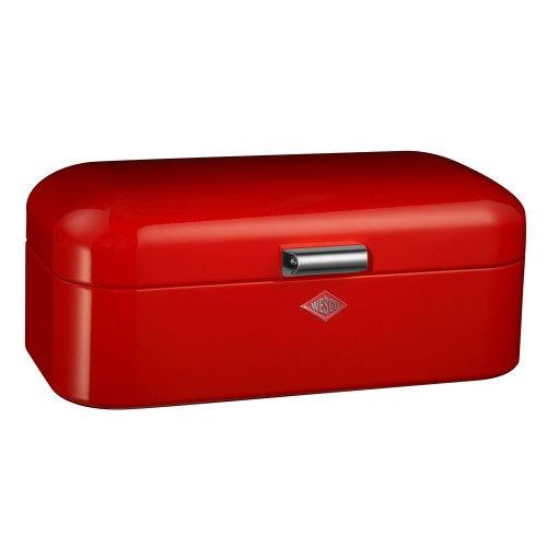 Wesco Grandy Bread Bin, Red