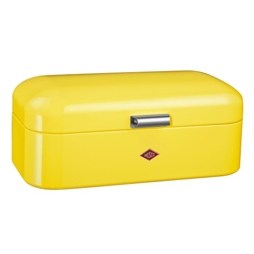 Wesco Grandy Bread Bin, Lemon Yellow