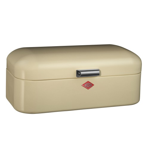 Wesco Grandy Bread Bin, Almond
