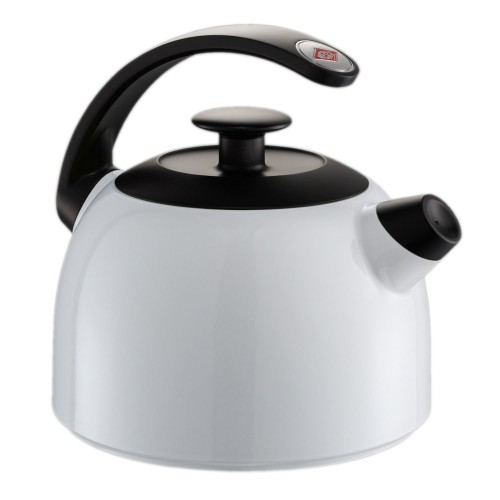 Wesco Whistling Kettle, White