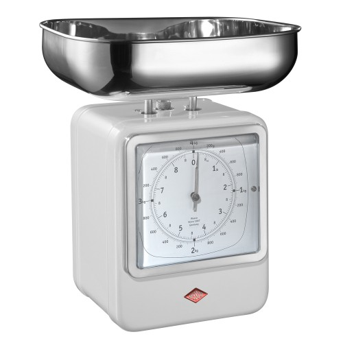Wesco Retro Scales, White