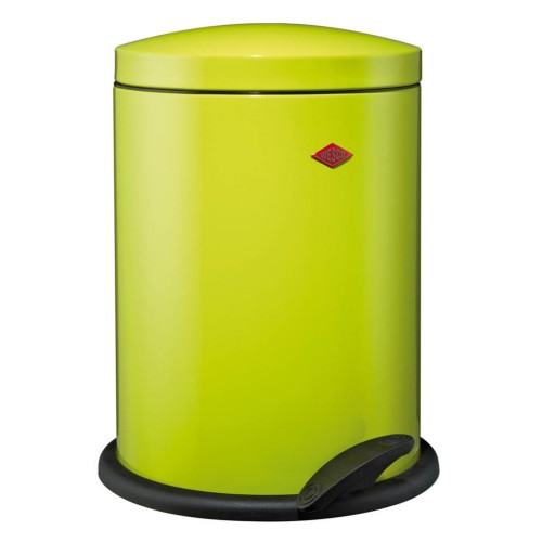 Wesco 13l Pedal Bin, Lime Green