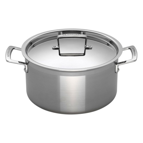 Le Creuset 3ply Deep Casserole W Lid 20cm, Stainless Steel