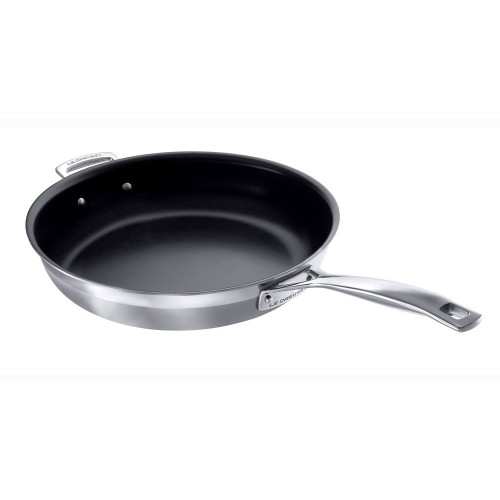 Le Creuset 3ply Fry Pan 30cm Non Stick, Stainless Steel