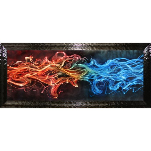 Complete Colour Flames Metal & Liquid Art
