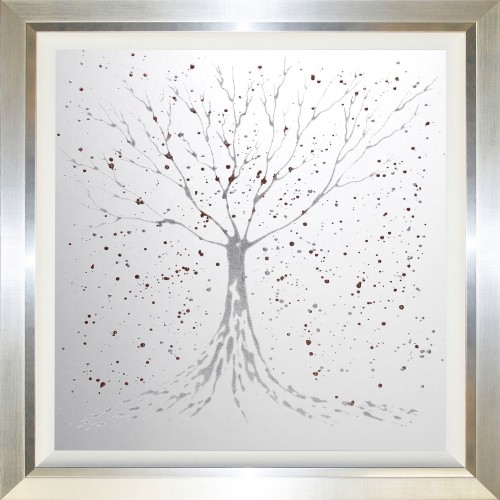 Complete Colour Silver/copper Tree Mirror