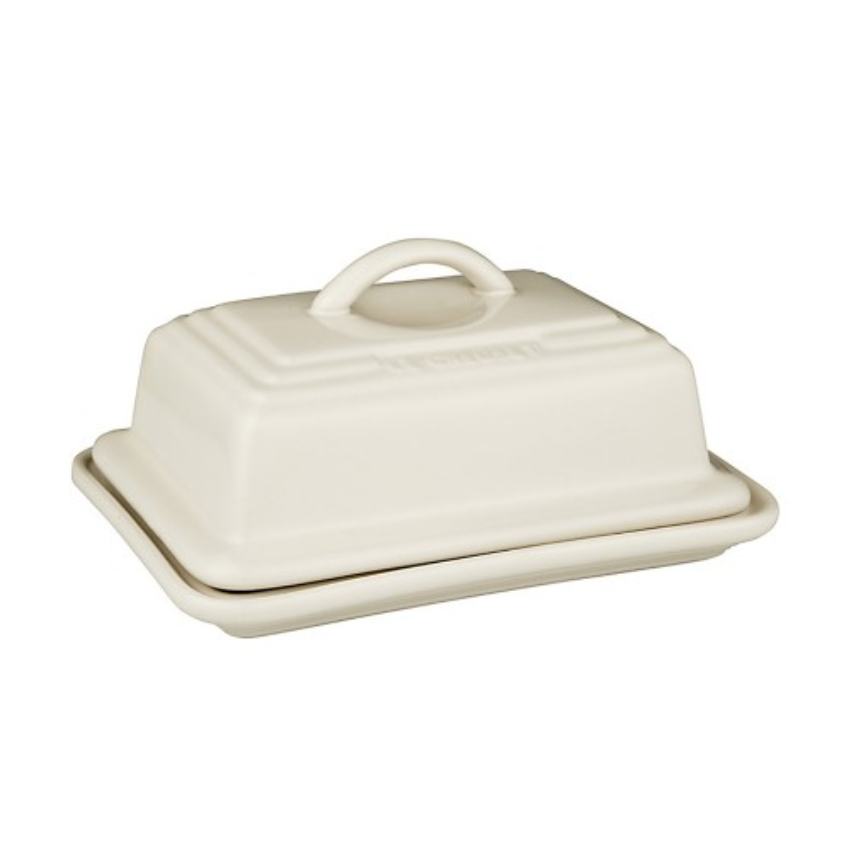 Le Creuset Butter Dish, Almond