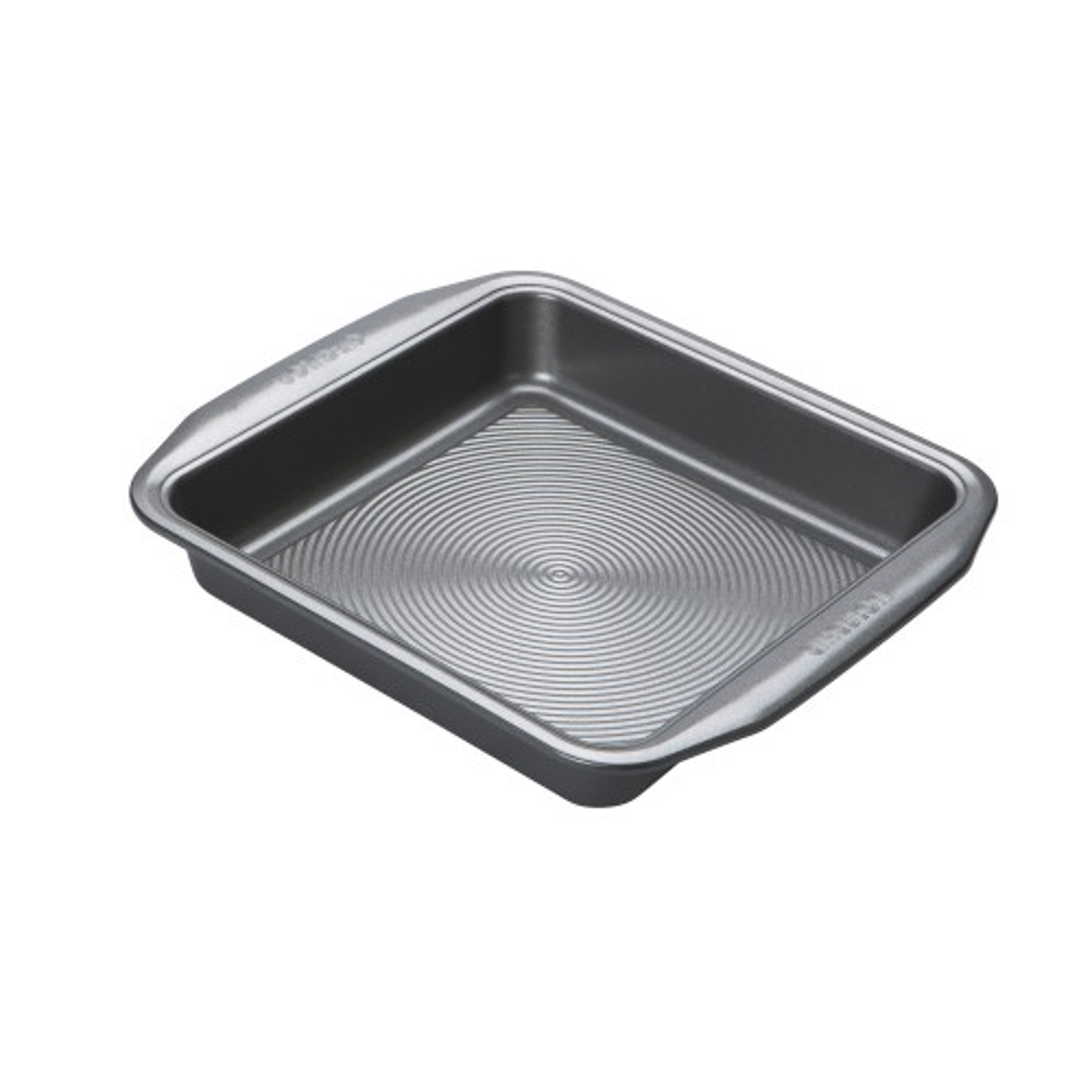 "Circulon Square Cake Tin - 9"", Silver"