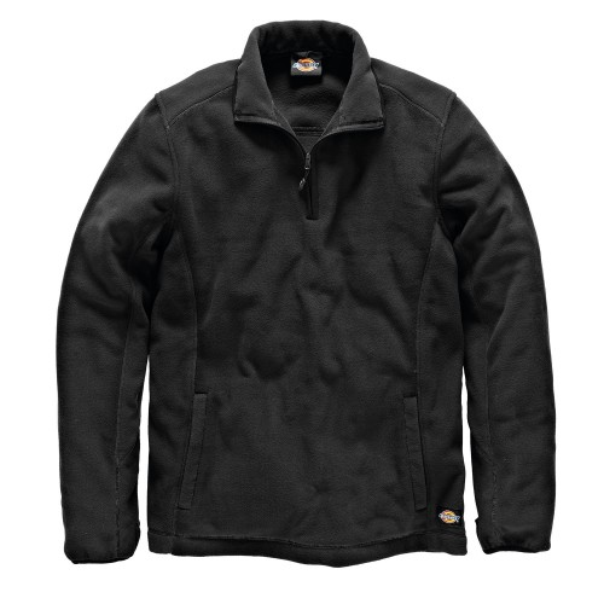 Dickies Medium Two Tone Micro Fleece, Black/Grey