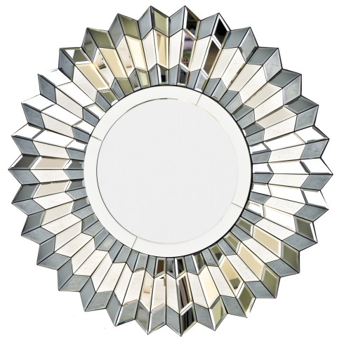 Casa Silver Star Art Deco Mirror Leekes