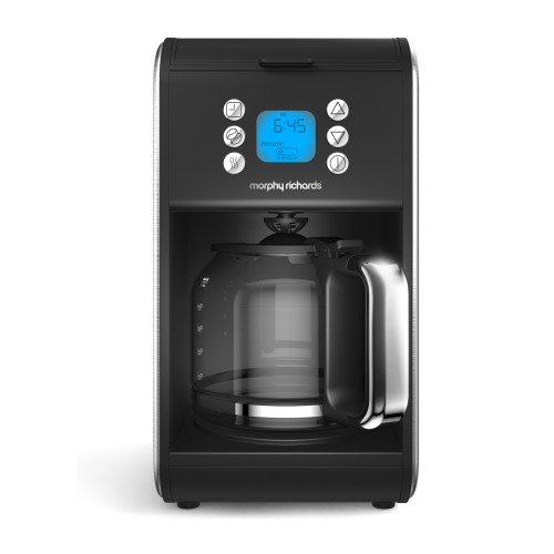 Morphy Richards Accents Filter Coffee Maker, Brushed Steel