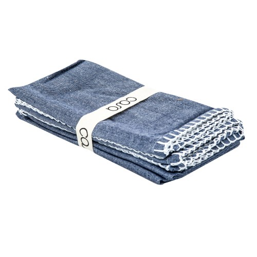 Set 4 Napkins 40x40cm, Denim