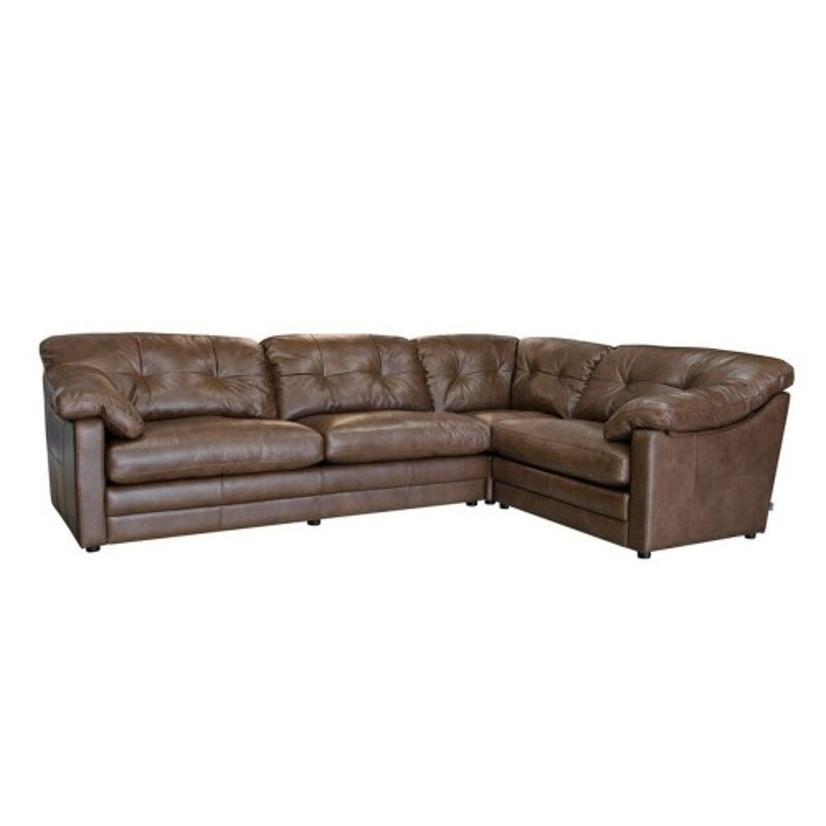 Alexander & James Bailey Corner Leather Sofa