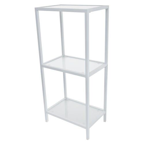 Casa Spa 3 Tier Shelf Unit, White