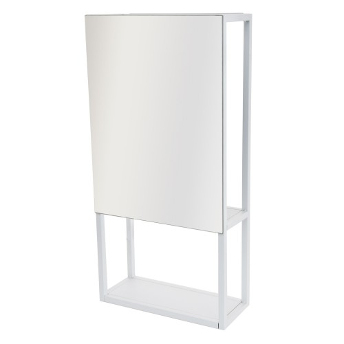 Casa Spa Wall Mirror & Storage Unit, White