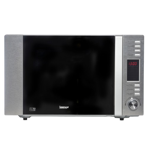igenix 900w combi microwave silver leekes. Black Bedroom Furniture Sets. Home Design Ideas