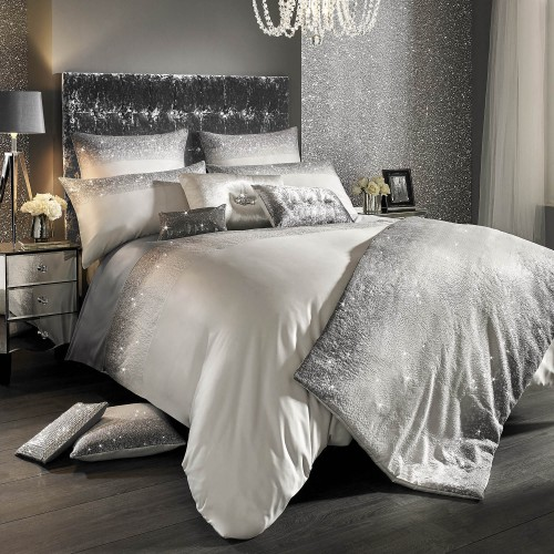 Merveilleux Kylie Glitter Fade Housewife Pillowcase, Sparkle Ombre