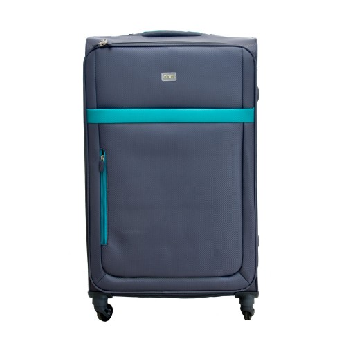 """Casa Bright Xtra Lite 28"""" Case, Grey And Teal"""