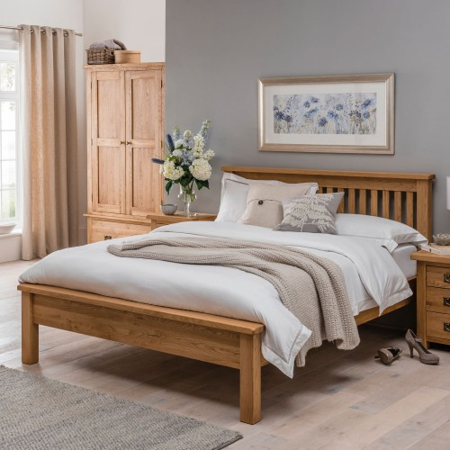 Casa Seville Double Low Foot End Bed Frame