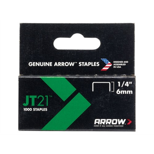 Arrow JT21series lightduty staples