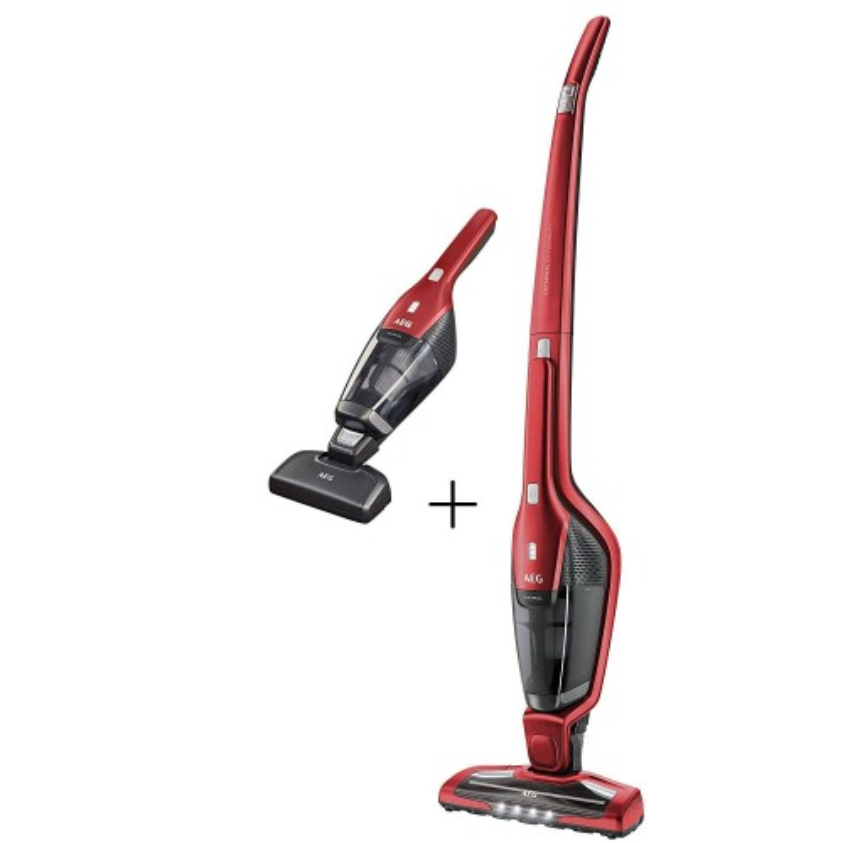 aeg cx7 2 45an cordless pet handheld vacuum cleaner red l. Black Bedroom Furniture Sets. Home Design Ideas
