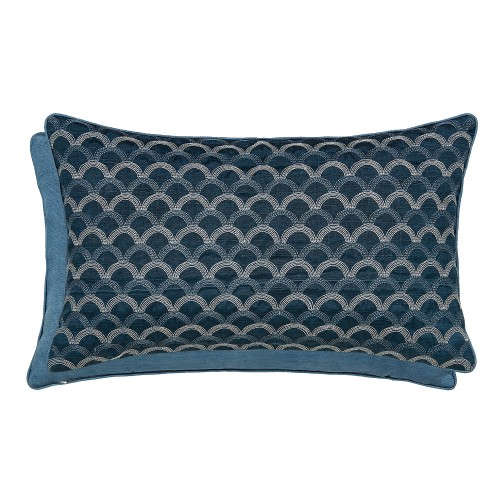 Bedeck Soller Cushion, 30x50cm, Blue