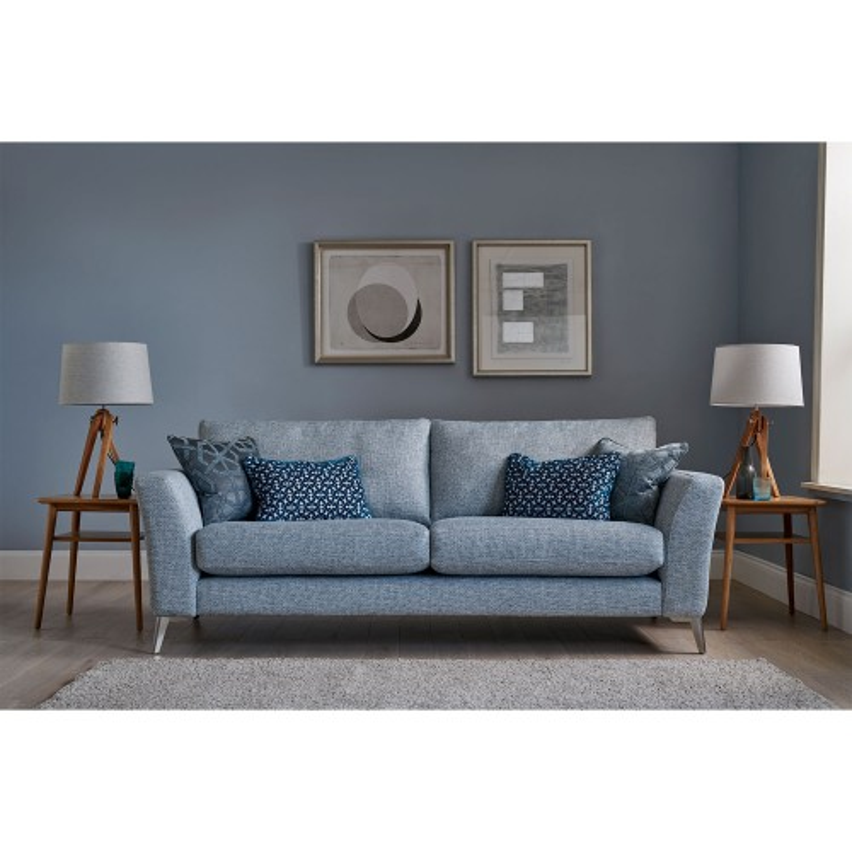 Casa Flora 3 Seater Sofa 3 Seat