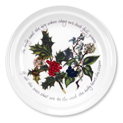 "The Holly and The Ivy 6"" Plate"