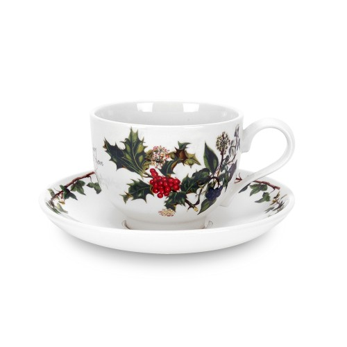 Portmeirion The Holly and The Ivy Teacup and Saucer