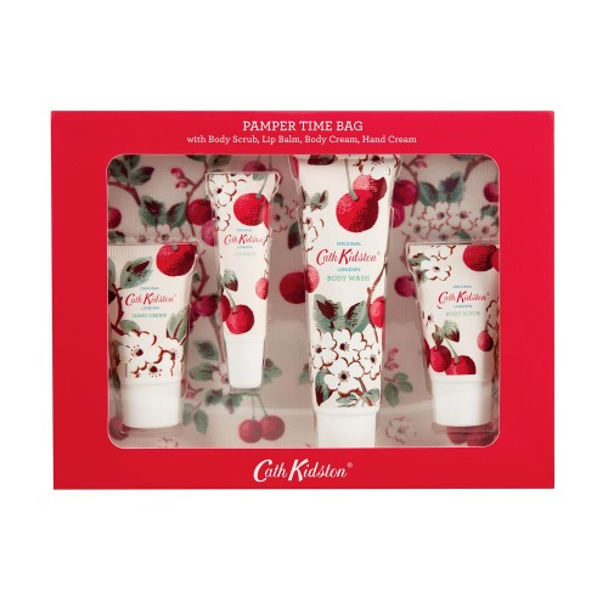Cath Kidston Mini Cherry Pamper Time Bag