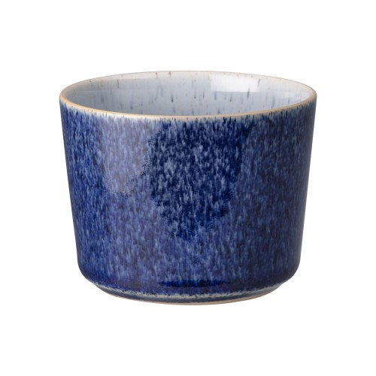 Denby Studio Blue Sugar Pot, Dark Blue