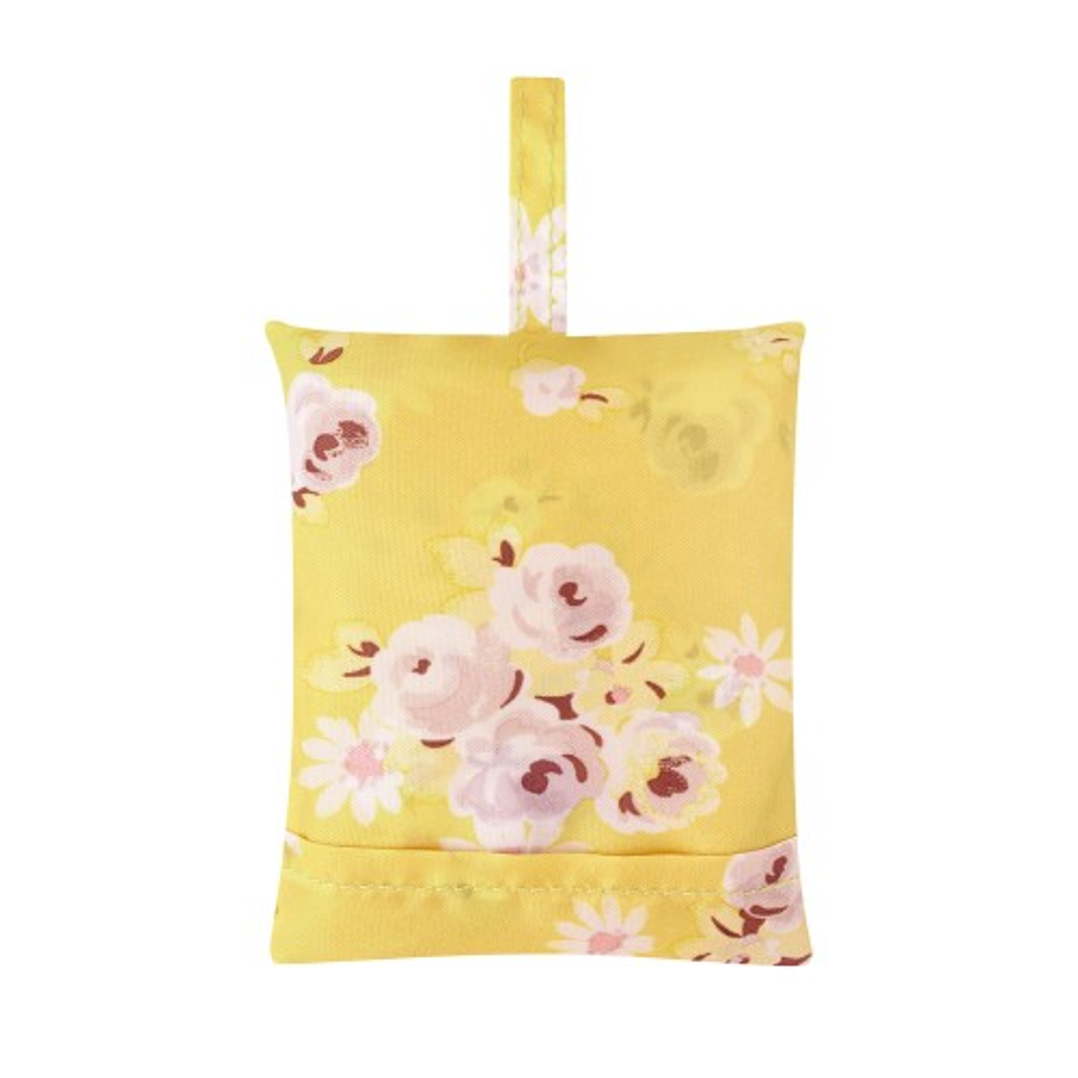 Cath Kidston Rose Foldaway Shopper, Light Pink