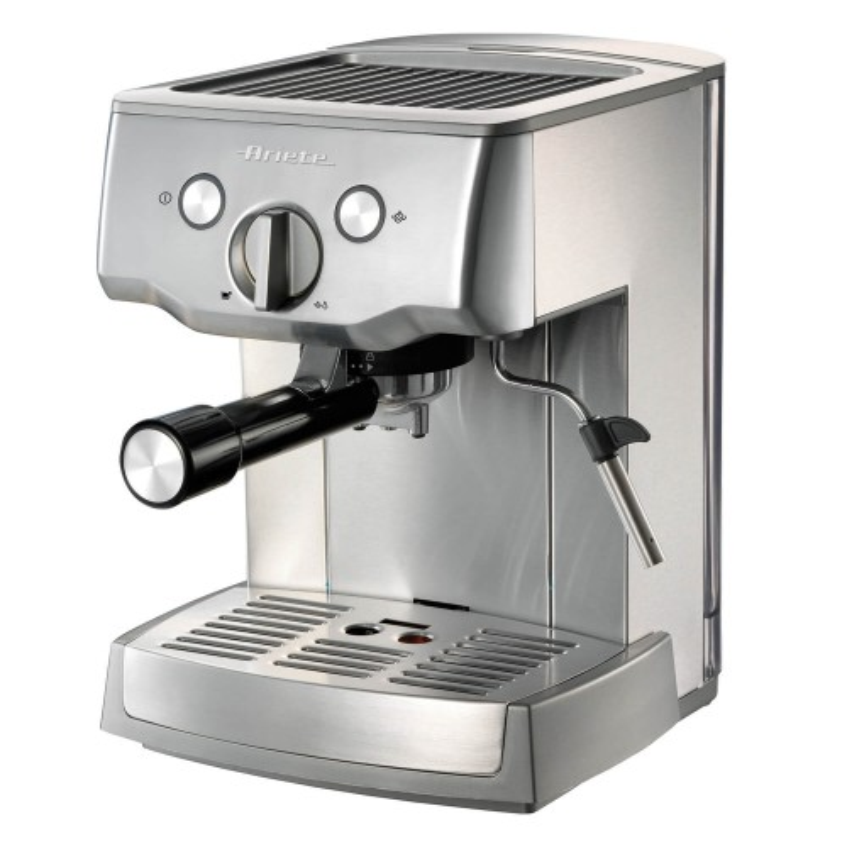 Ariete Metal 15 Espresso Machine, Grey