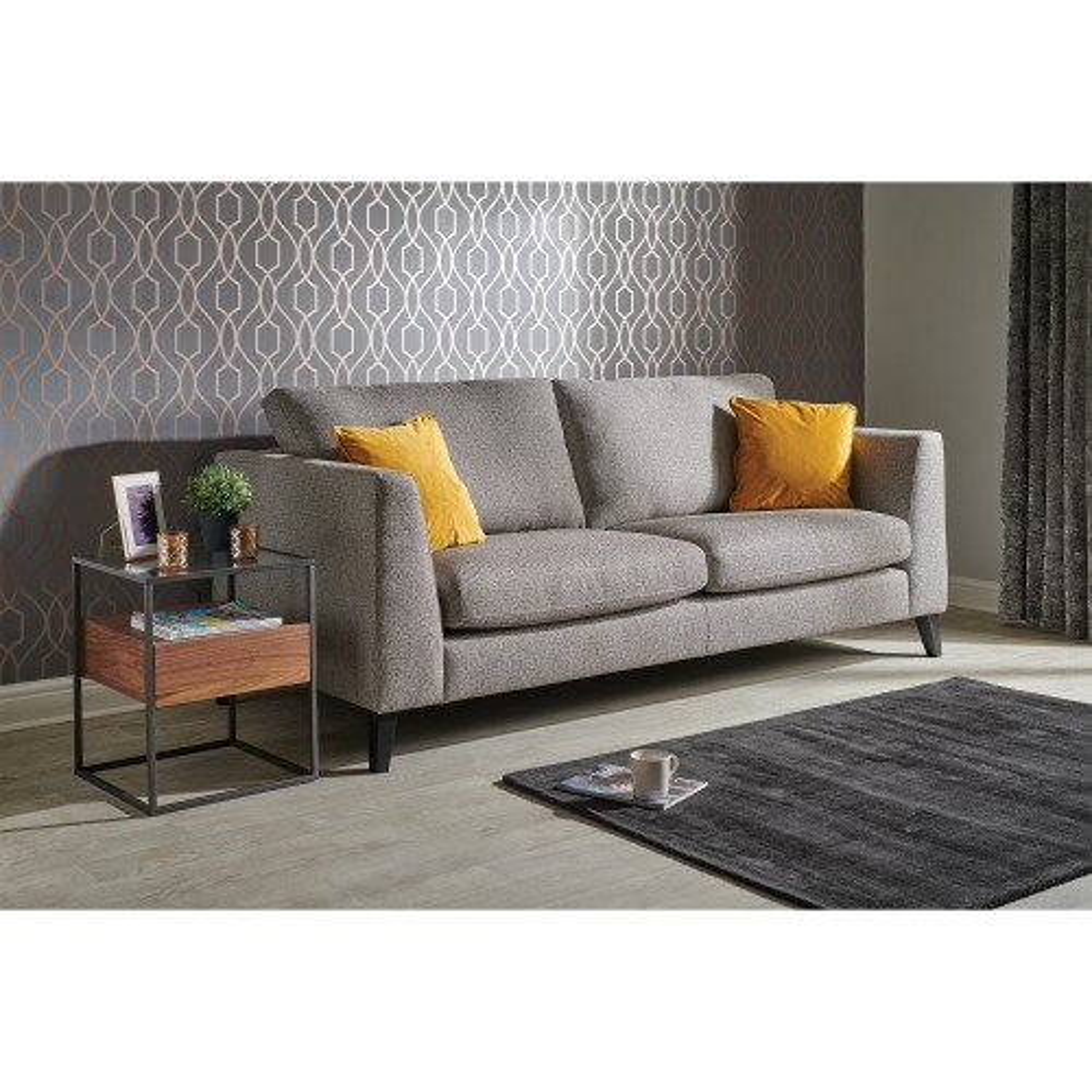 Casa Grayson 3 Seater Sofa, Large