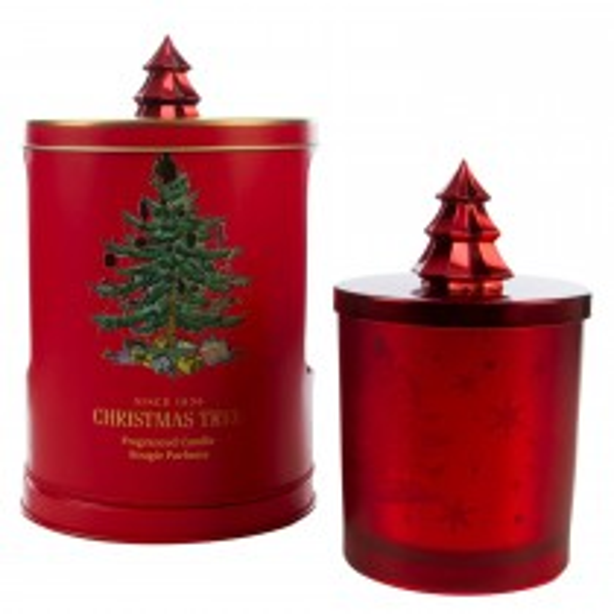 Wax Lyrical Christmas Tree Candle & Musical Tin