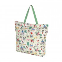 Cath Kidston, Park Dogs, Foldaway Tote, Large, Green