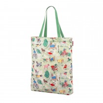 Cath Kidston, Park Dogs, Foldaway Tote, Small, Green