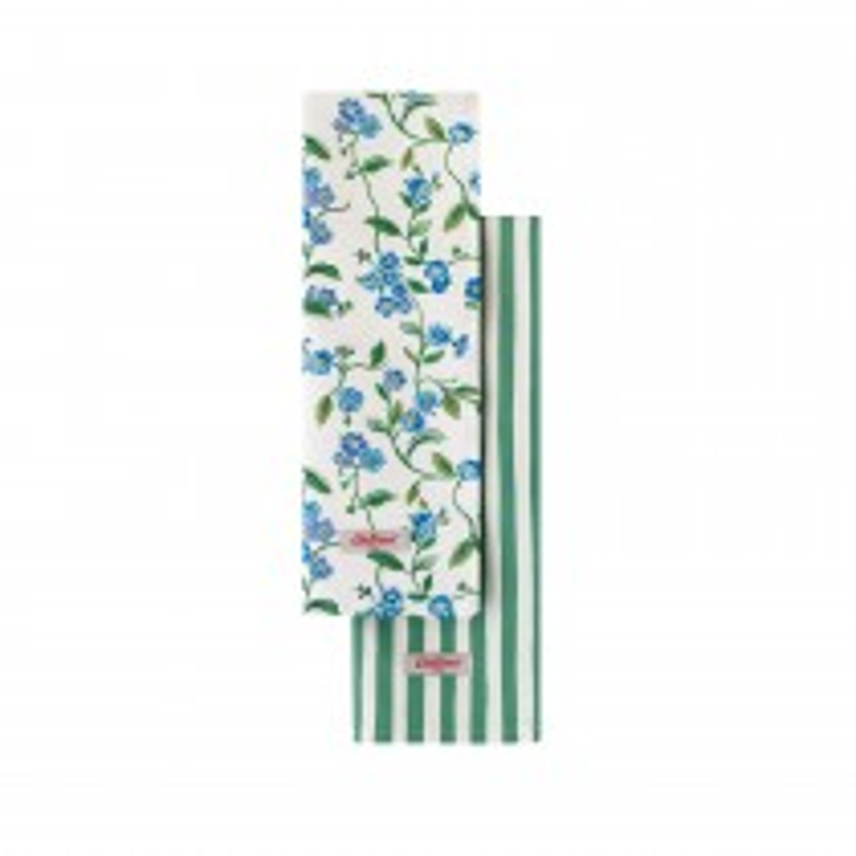 Cath Kidston, Greenwich Flowers, Tea Towel Set, Assorted, Pack of 2