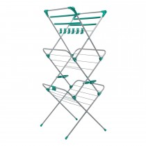 Addis, Deluxe 3 Tier Airer, 15 Mtere, Blue