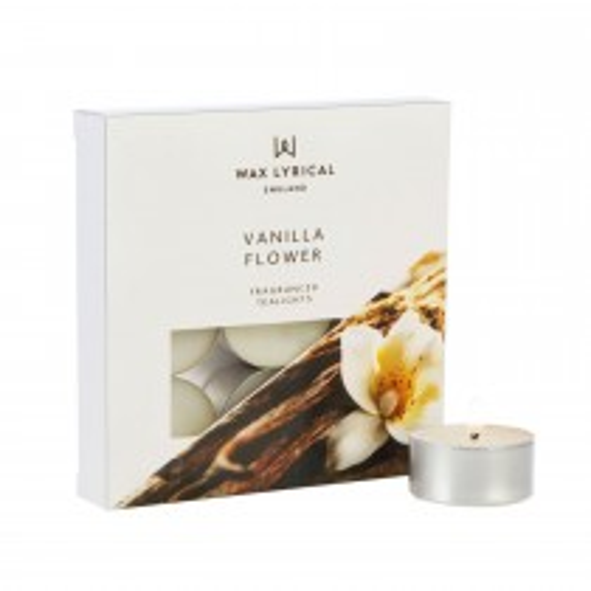 Colony Tealights Box of 9 Vanilla Flower