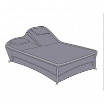 Hartman Heritage Double Lounger Cover, Grey