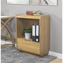 Jual Universal Bookcase With Drawer - Oak