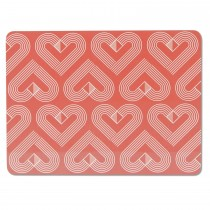 Vibe Placemats, Coral