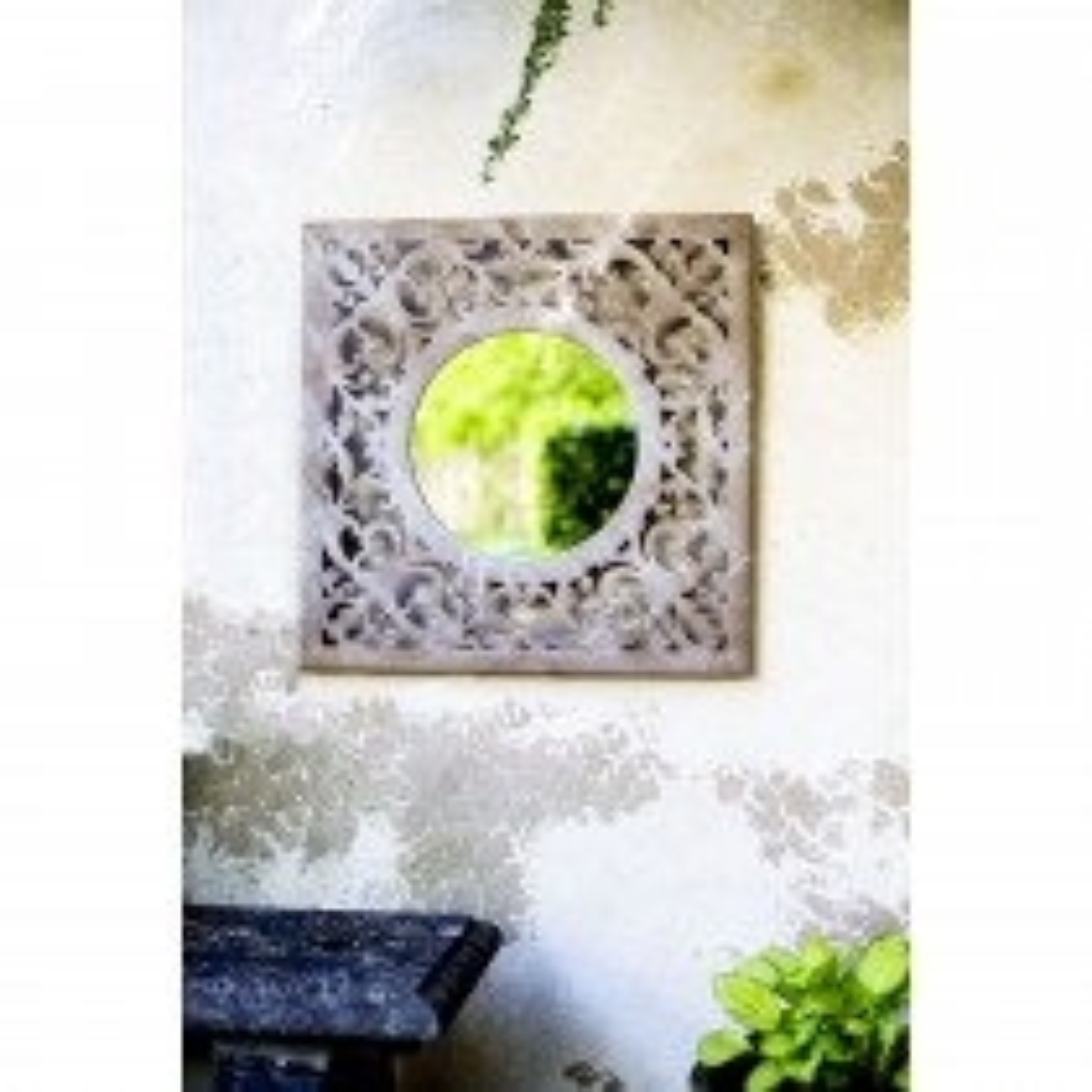 La Hacienda Square Window Garden Mirror