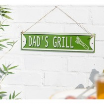 La Hacienda Dad's Grill Garden Sign